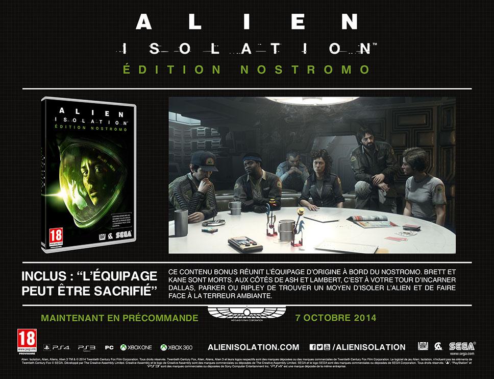 Alien Isolation Nostromo