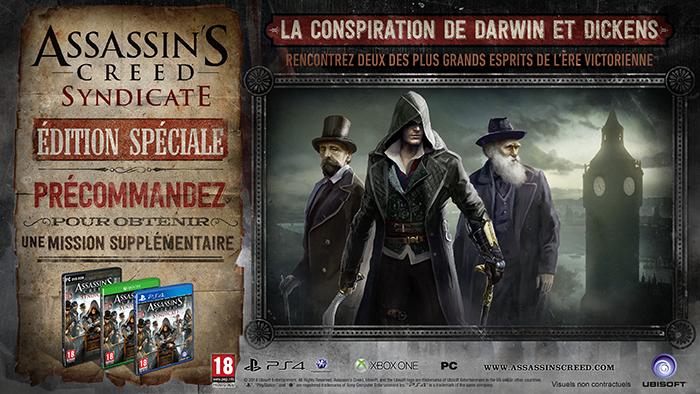Bonus de précommande Assassin's Creed Syndicate
